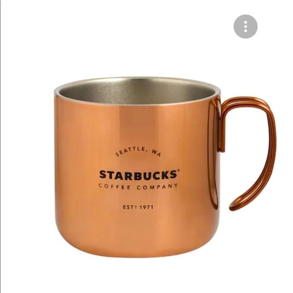 Starbucks Japan Stainless Steel Copper Mug, 355ml